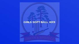 Girls Soft Ball 2019