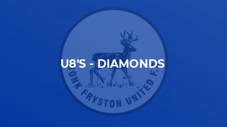 U8's - Diamonds