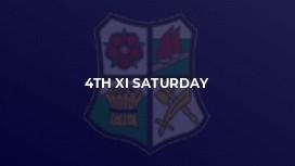4th XI Saturday