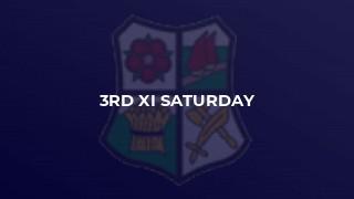 3rd XI Saturday