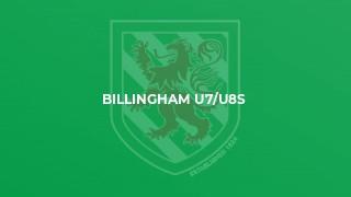 Billingham U7/U8s
