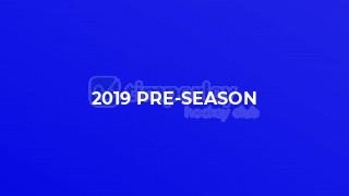 2019 pre-season
