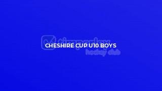 Cheshire Cup U10 boys