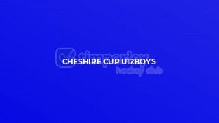 Cheshire Cup U12boys