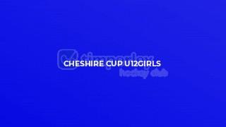 Cheshire Cup U12girls