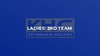 Ladies' 3rd Team