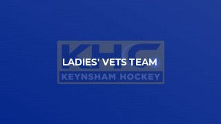 Ladies' Vets Team