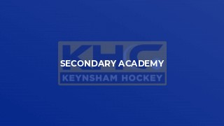 Secondary Academy