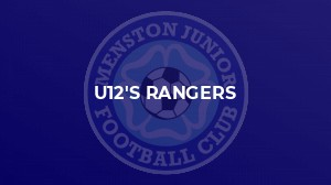 Menston Rangers u12s win crucial tie in the quest for the Title