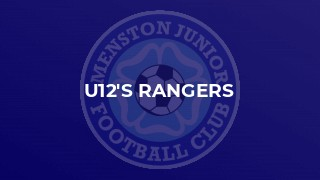 Menston Rangers u12s reach the League Cup Final for the 3rd year in a row
