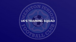 U6's training squad