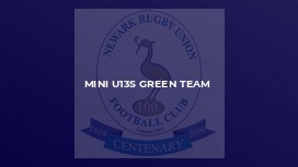 MINI U13S GREEN TEAM