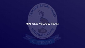 MINI U13S YELLOW TEAM