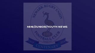 MINI/JUNIOR/YOUTH NEWS