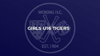 Girls U16 Tigers