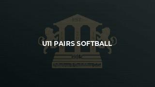 U11 Pairs Softball