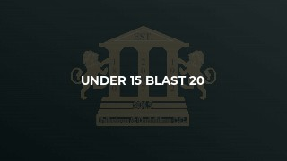 Under 15 Blast 20