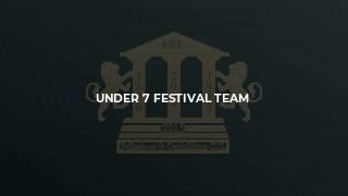 Under 7 Festival Team