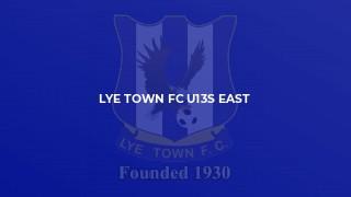 Lye Town FC U13s East