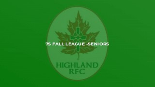 7s fall league -seniors