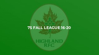 7s fall league 16-20