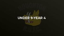 Under 9-Year 4