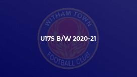 u17S b/w 2020-21