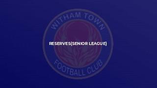Reserves(senior league)