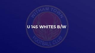 u 14s whites b/w