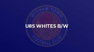 u8s whites b/w