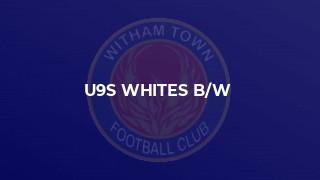 u9s whites b/w