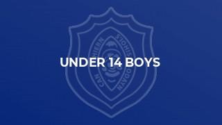 Under 14 Boys