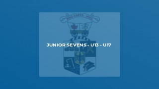 Junior Sevens - U13 - U17