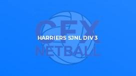 Harriers SJNL DIV 3