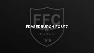 SHFL Under 17 League - East, Keith v Fraserburgh, Monday 19th August 2019