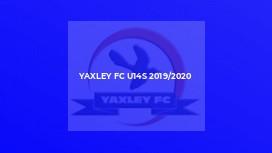 Yaxley FC U14s 2019/2020