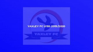 Yaxley FC U15s 2019/2020