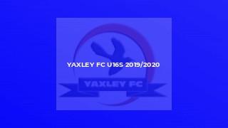 Yaxley FC U16s 2019/2020