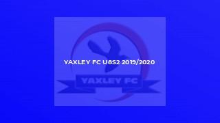 Yaxley FC U8s2 2019/2020