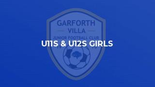 U11s & U12s GIRLS