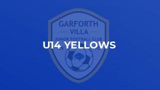 U14 Yellows