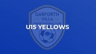 U15 Yellows
