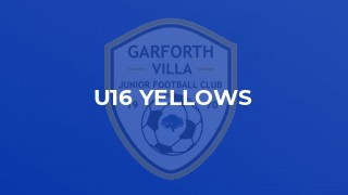 U16 Yellows