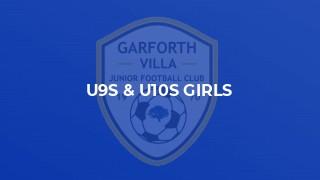 U9s & U10s GIRLS