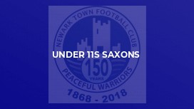 Under 11s Saxons