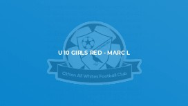 U 10 Girls Red - Marc L
