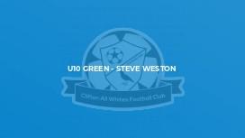 U10 Green - Steve Weston