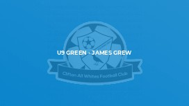 U9 Green - James Grew