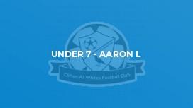 Under 7 - Aaron L