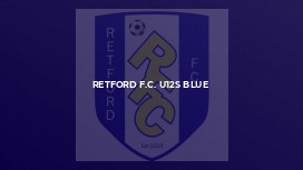 Retford F.C. U12s Blue